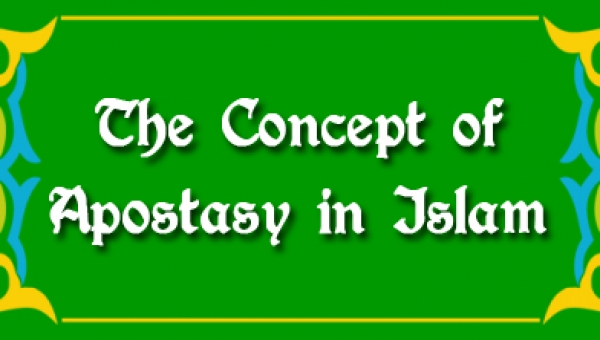 """The Concept of Apostasy in Islam"" by WRF Member Joshua Woo Sze Zeng"